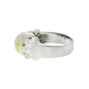 Lagos Two Tone Oval Ring