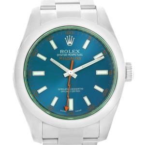 Rolex Milgauss 116400GV 40mm Mens Watch