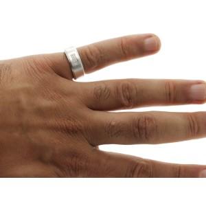 Authentic Tiffany & Co 18K White Gold Diamond Band Ring Size 8