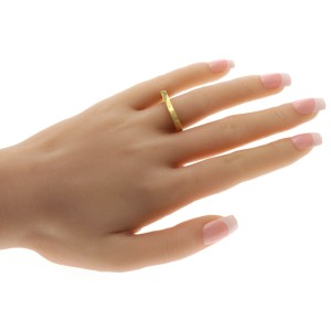 Authentic Tiffany & Co. 18K Yellow Gold Frank Gehry Torque Ring Size 10.5