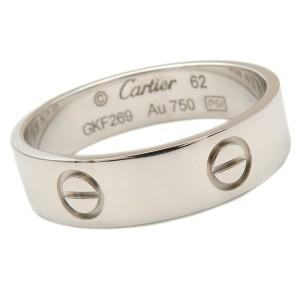 Cartier 18k White Gold Love Ring