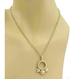 Bvlgari Allegra 18K Rose Gold Slide Hearts Pendant Necklace