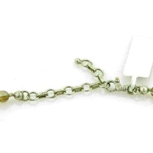 Gurhan GALAPAGOS Rutilated Quartz 24k Gold & Dark Sterling Graduated Necklace