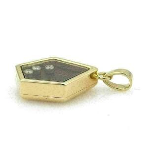 Chopard Happy Diamond 18k Yellow Gold Fancy Shape Pendant