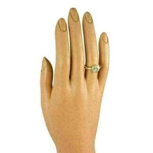 Chopard Happy Diamond 18k Yellow Gold Heart Ring w/Diamond Bezel w/Certificate