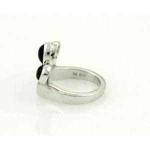 Bvlgari Allegra Amethyst Peridot & Tourmaline 18k white Gold Ring