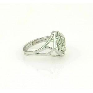 Hearts On Fire 18k White Gold Diamonds Open Design Ring