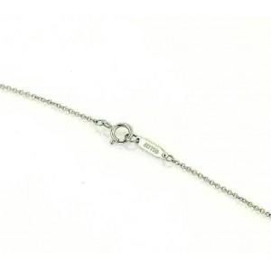 Tiffany & Co. Classic Mini Heart Pink Sapphire 18k White Gold Pendant