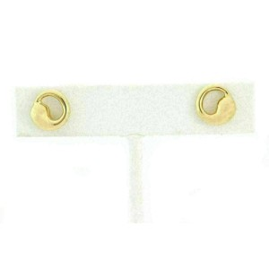 Tiffany & Co. Peretti Eternal Circle 18k Yellow Gold Stud Earrings