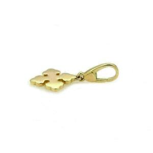 Bvlgari Byzantine 18k Yellow Gold Cross Charm