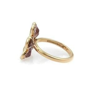 Tiffany & Co. Enchant Lavender Amethyst Diamond 18k Rose Gold Ring