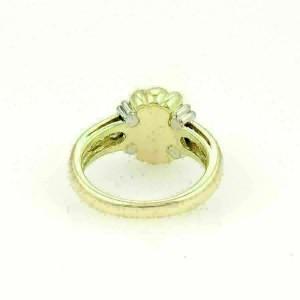 T. Foster & Co. Platinum 18k Yellow Gold & Diamond X Design Ring