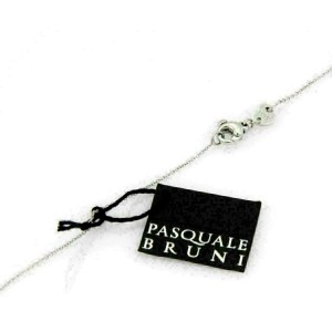 Pasquale Bruni Amore Diamond 18k White Gold Mini Ring Pendant Rt. $4,800