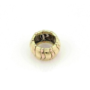 Piaget 18k Tricolor Gold 14mm Wide Dome Band Ring