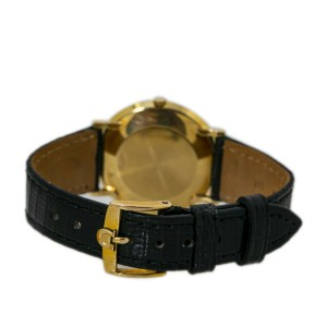 Jaegar LeCoultre 194 Florentine Manual Wind Strap Mens Watch 33mm