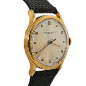 Vacheron Constantin V454 18K Rose GoldVintage Manual-Winding Watch 33mm With Box