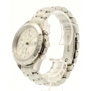 OMEGA Speedmaster Date Chronograph Automatic Silver Dial Men's Watch