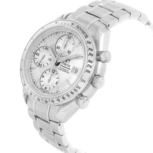 Omega Speedmaster Chronograph Steel Mens Watch 3211.30.00 Box Card