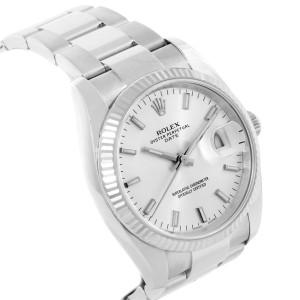 Rolex Date 115234 34mm Mens Watch