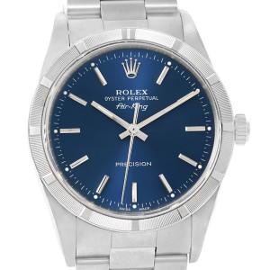 Rolex Air King 14010 34mm Mens Watch