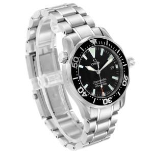 Omega Seamaster 36 Midsize Black Dial Steel Watch 2252.50.00 Box
