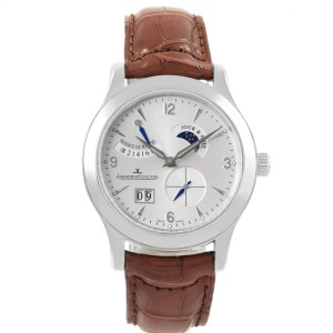 Jaeger Lecoultre Reserve De Marche Q1608420 40mm Mens Watch