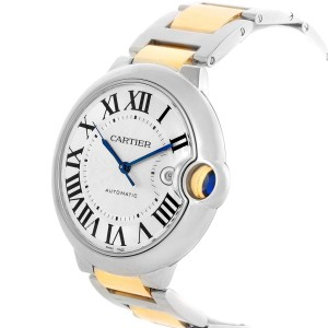 Cartier Ballon Bleu W69009Z3 42.1mm Mens Watch