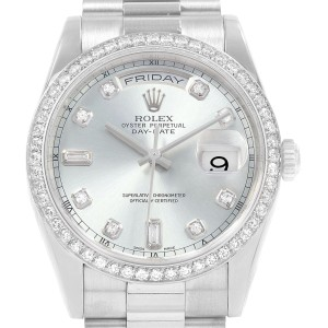 Rolex Date 118206 36mm Mens Watch
