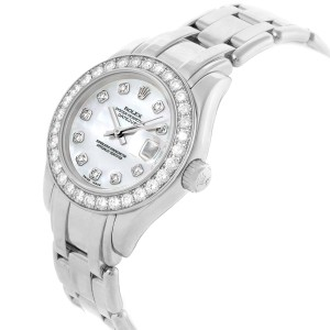 Rolex Pearlmaster 80299 29mm Womens Watch