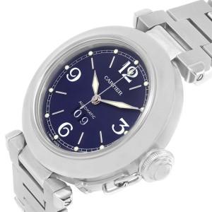 Cartier Pasha C W31047M7 35mm Mens Watch
