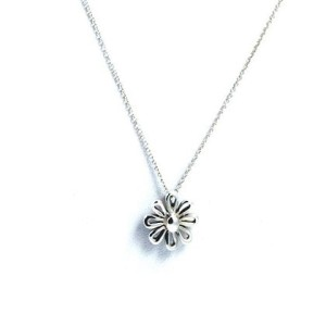 Tiffany & Co. Sterling Silver Daisy Pendant Necklace