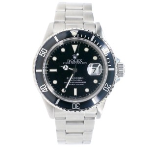 Rolex Submariner 40MM Black Dial Stainless Steel Oyster Watch