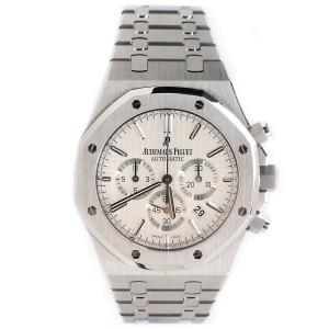 Audemars Piguet Royal Oak 41mm Chronograph Silver Dial Watch