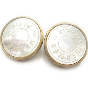 Hermes Metal Earrings
