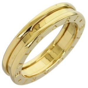 Bulgari 18K Yellow Gold B Zero One Single Band Ring