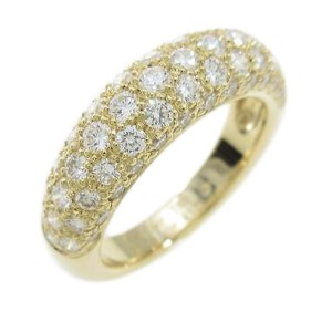 Cartier 18K Yellow Gold Mimi Star Ring Size: 6.75