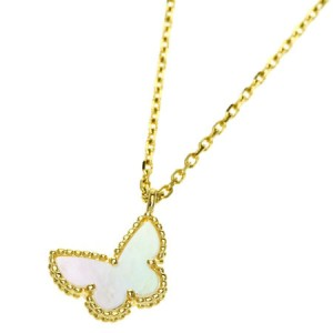 Van Cleef And Arpels 18K Yellow Gold Necklace