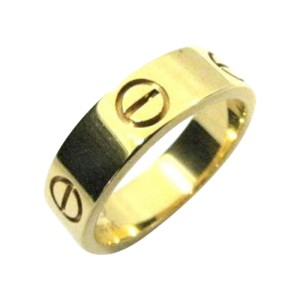 Cartier Love 18K Yellow Gold Ring Size 7.25