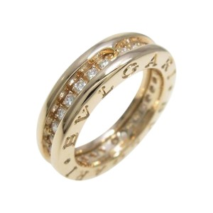 Bulgari B zero1 750 Pink Gold Band Ring