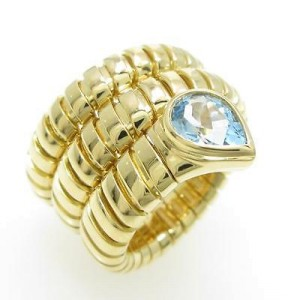 Bulgari 750 Yellow Gold Serpent Ring