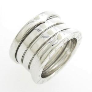Bulgari 750 White Gold B zero1 Band Ring