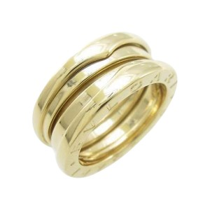 Bulgari B zero1 750 Yellow Gold Band Ring Size U.S. 4.5 EU 48