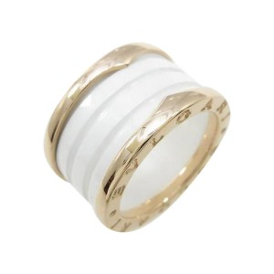 Bulgari B zero1 750 Pink Gold Band Ring