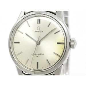 Omega Seamaster 30 Cal 286 Stainless Steel Manual Mens Watch