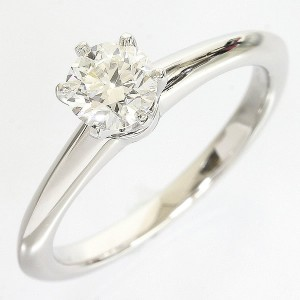 Tiffany & Co. PT950 Platinum Solitaire Ring