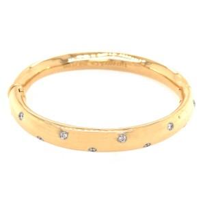 Tiffany and Co. Etoile Diamond Vintage Bangle Bracelet