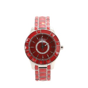Christian Dior Christal Quartz Watch Stainless Steel and Sapphire Crystals with Diamonds 33