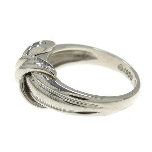 Tiffany & Co. Sterling Silver Signature Ring Size 5.25