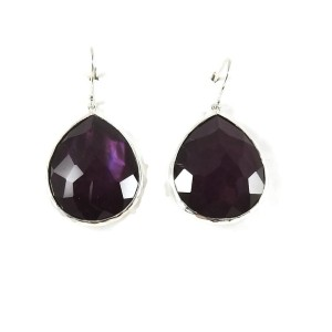 Ippolita Sterling Silver Large Berry Rock Candy Teardrop Earrings