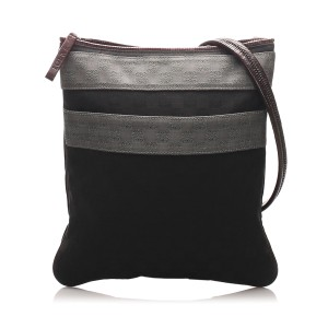 Anagram Canvas Crossbody Bag